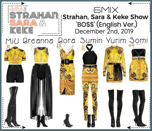 《6mix》Strahan, Sara & Keke Show