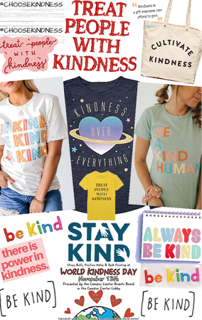 be kind xox
