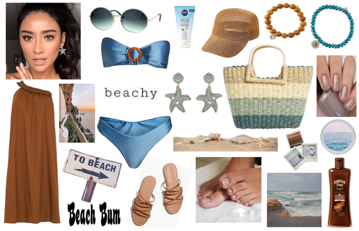 Gorgeous marine mix for a cool day at the sea!