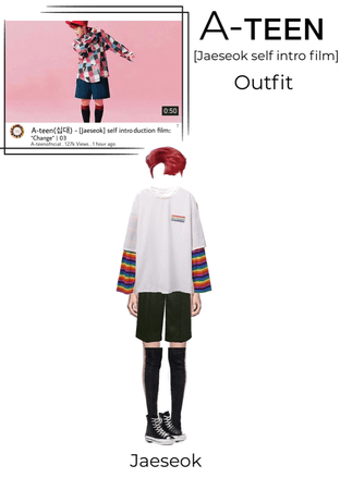A-teen [Jaeseok] self introduction film | outfit