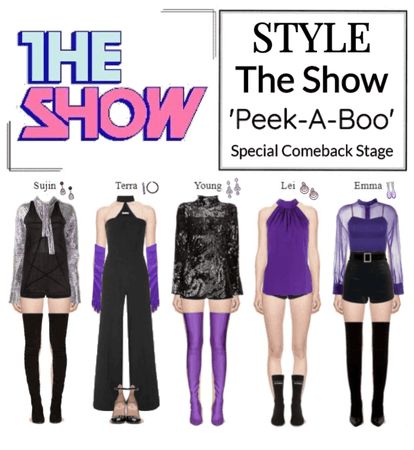 STYLE The Show 'Peek-A-Boo' Special Comeback Stage