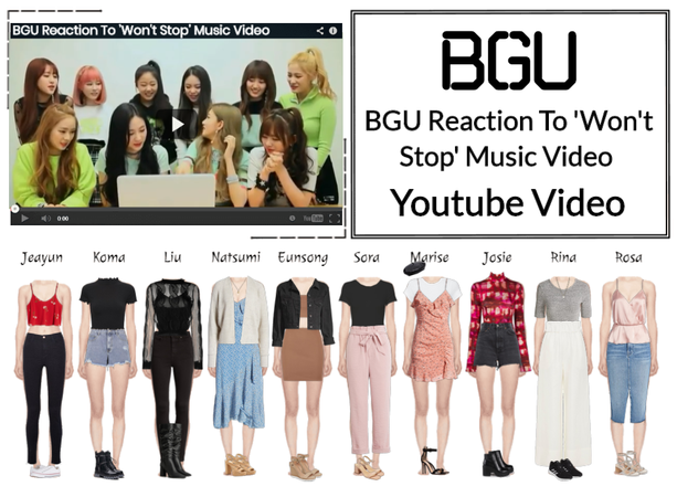 BGU 'Won't Stop' Reaction Youtube Video