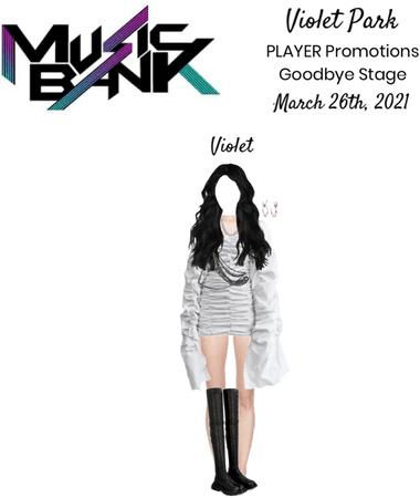 Violet Park   PLAYER   Music Bank Stage