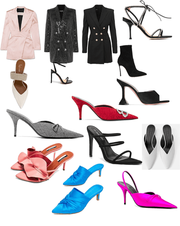 dressy looks and low heels