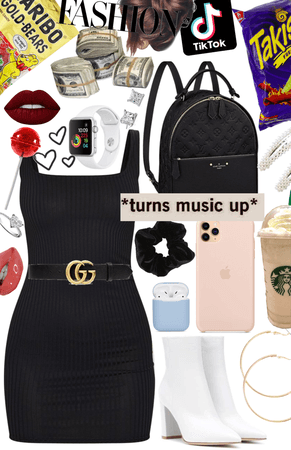 cute black dress chic