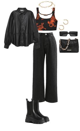 Mikasa Ackermans outfit 🖤