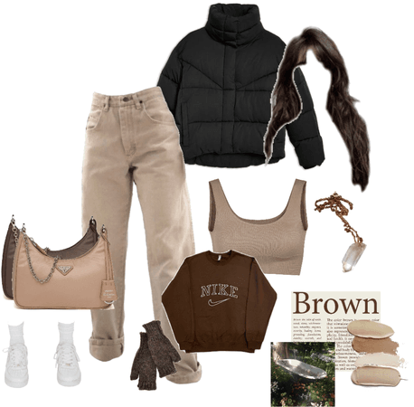 brown and beige 🤎🍪