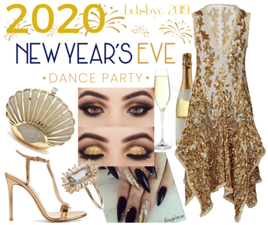 2020 NYE Dance Party style