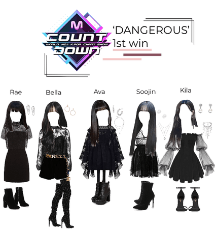 'DANGEROUS's first win | XOC fake girl group