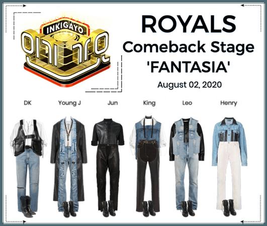 ROYALS [감청색] 'FANTASIA' Comeback Stage | Inkigayo