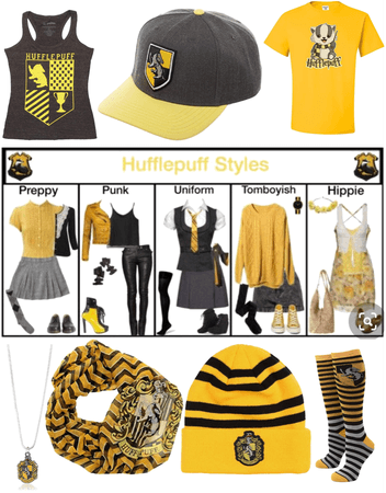 Hufflepuff at heart 🖤💛🤍🖤💛🤍