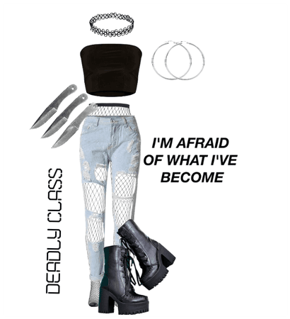 Deadly Class Outfit 3