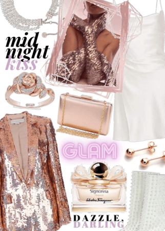 Rose Gold Glam
