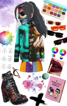 multi colour swatch shop xox