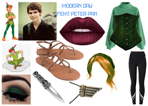 modern day characters 46: Fem! Peter Pan