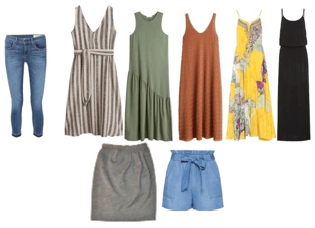 Bottoms and Dresses for Spring and Summer