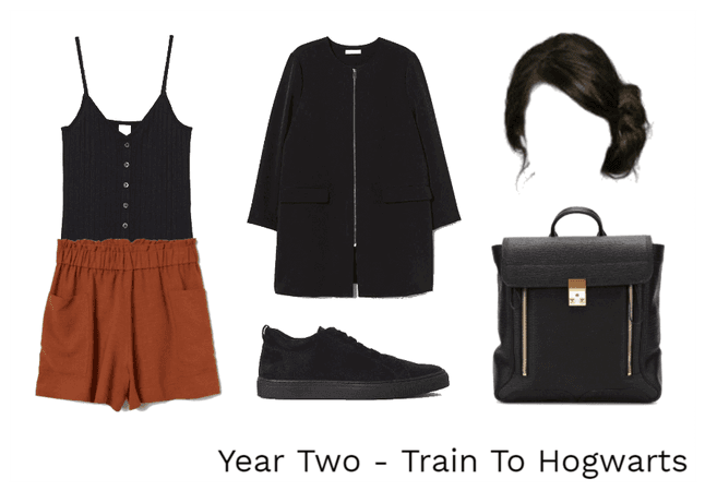 Year Two - Train To Hogwarts
