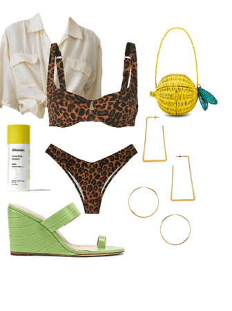 Colorful Classic Poolside