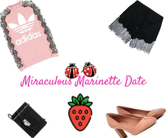miraculous marinette date night