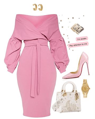 pink girlfriend.