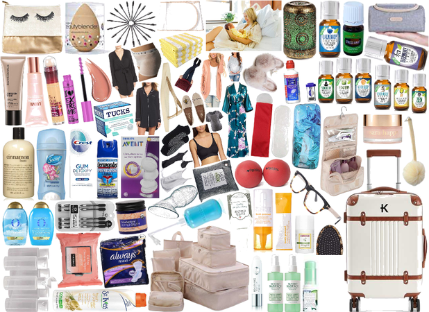 Planning My Hospital Bag:: Suitcase