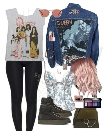 Queen Pink Pastel