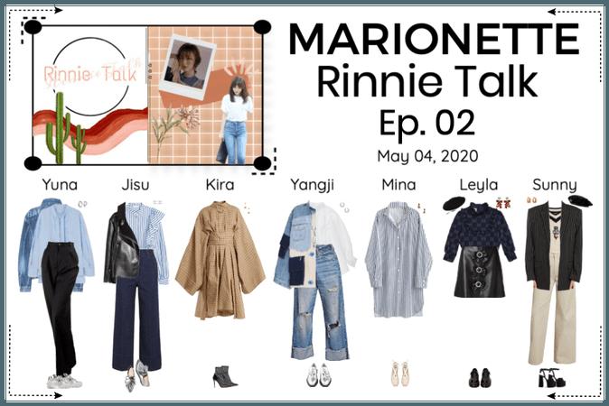 MARIONETTE (마리오네트) Rinnie Talk Ep.02