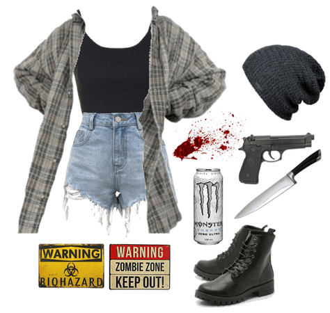 Zombie Apocalypse Outfit #1