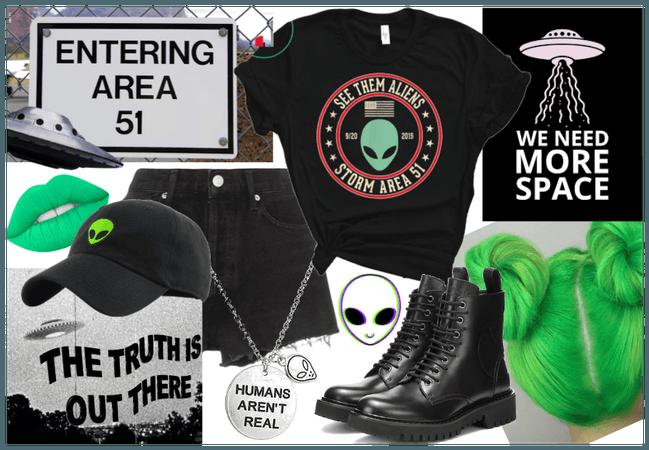 Alien - Area 51 Style