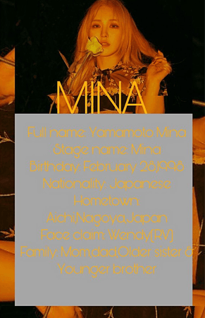 Permanent guest Mina Profile @official_mina
