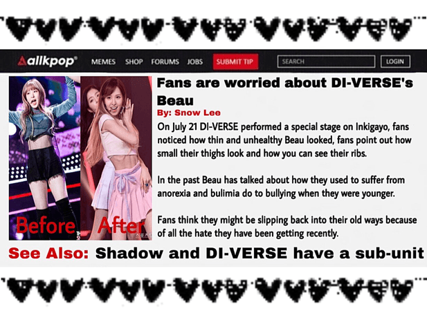 DI-VERSE News Fans Worry About Beau..