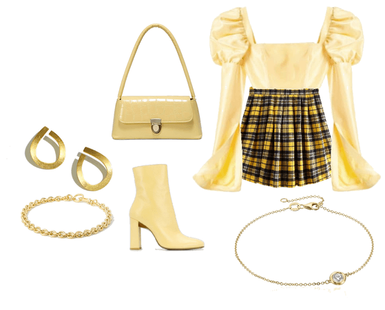 #belleoutfit, #yellowoutfit and #koreanlook