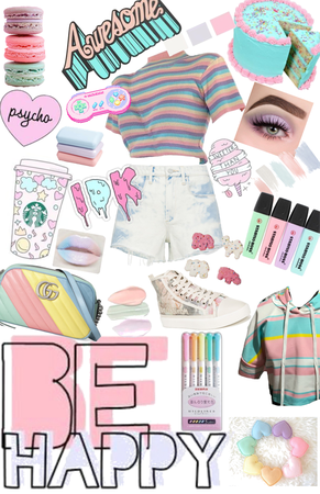 be bright with pastel!!