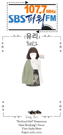 Yuri 'No Good Girl' Promotions Choi HwaJung Radio