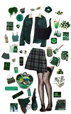 greens my favorite color