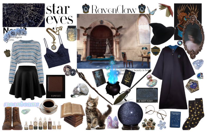 Starry eyed Raven