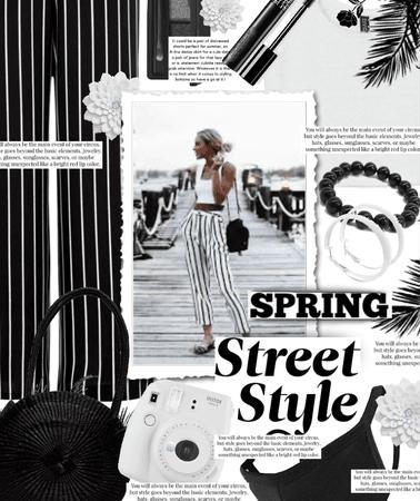 spring street style: b & w edition