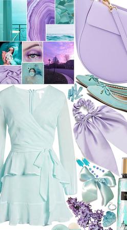 Aqua/Purple style 2020💜💜