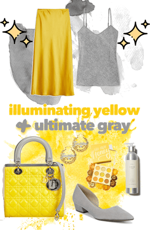 Grey & Yellow