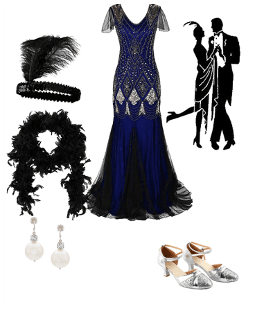 The Great Gatsby Flapper Costume