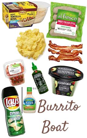 Burrito boat