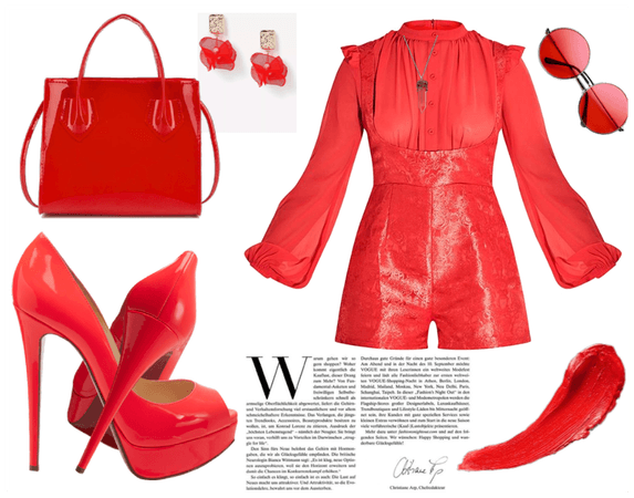 with red you will never go wrong