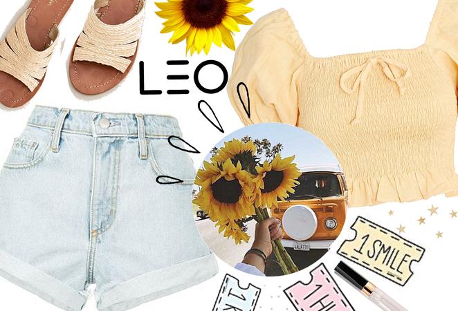 Leo : Sunflowers