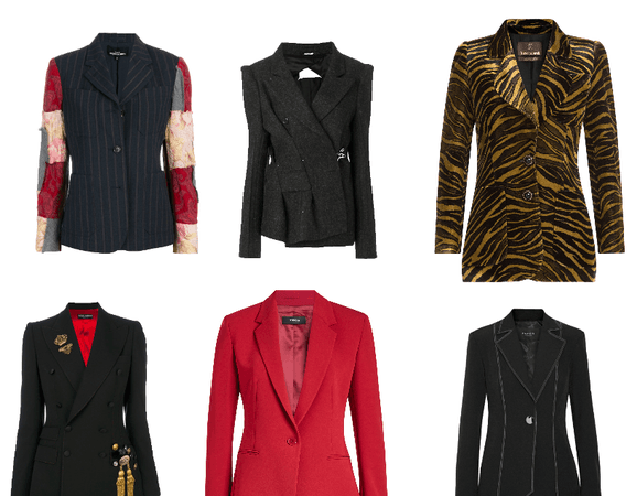 Blazer selections of  the week