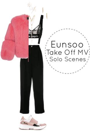 Eunsoo Take Off MV Solo Scenes