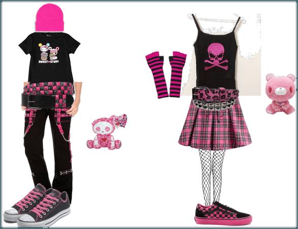 Masc and Fem Pink Scemo!!!
