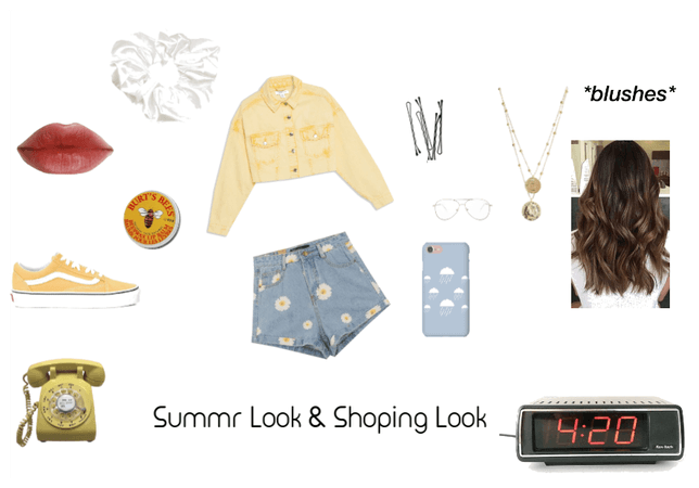 Summer and  Shoping look