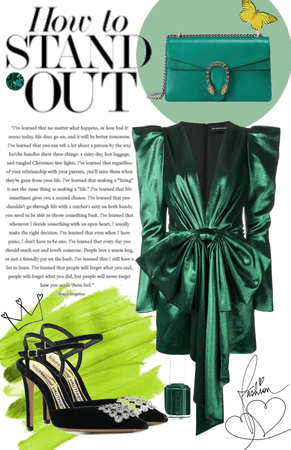 how to stand out : emerald beauty