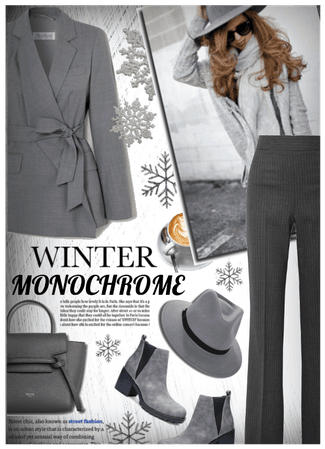 winter monchrome