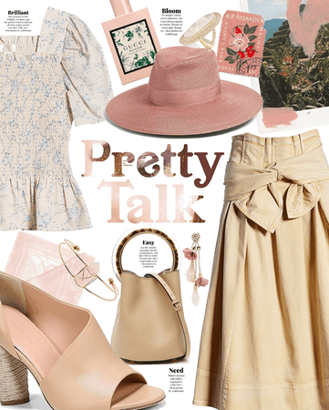 pretty talk |  muted pastels